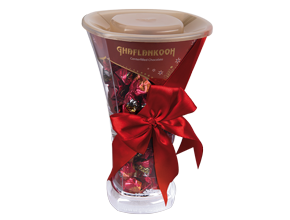Chocolate Cup Red Gift